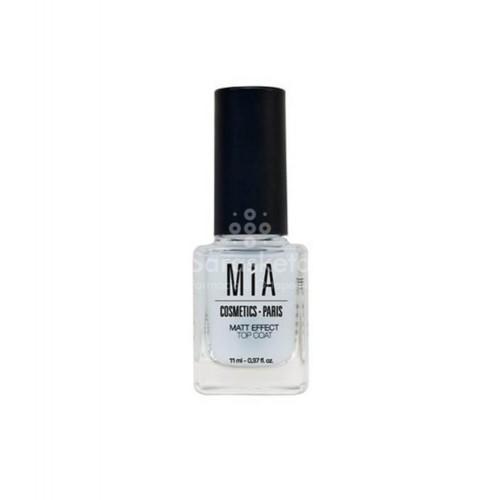 Mia Laurens - MIA Cosmetics Nails Top Coat Matt Effect 11ml - Farmacia Sarasketa