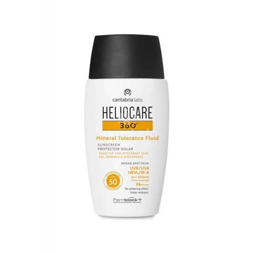 Heliocare - HELIOCARE 360º Mineral Tolerance Fluid SPF 50  50ml - Farmacia Sarasketa