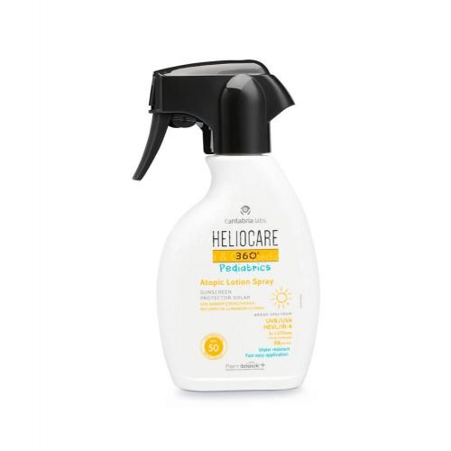 Heliocare - HELIOCARE 360º Pediatrics Atopic Lotion Spray SPF 50  50ml - Farmacia Sarasketa