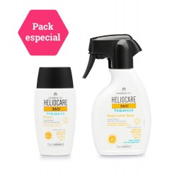 HELIOCARE 360º PACK Pediatrics Atopic Lotion Spray + Mineral SPF 50+