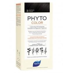 Phyto - Phytocolor 3 Castaño oscuro - Farmacia Sarasketa