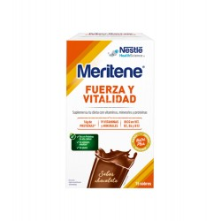 NESTLE HEALTHCARE NUTRITION, S.A. - Meritene Batido Chocolate 15 sobres - Farmacia Sarasketa