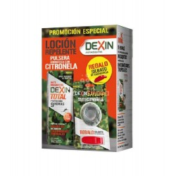 re:va - Dexin Pack Anti-mosquitos Loción Repelente + Pulsera - Farmacia Sarasketa