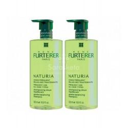 Rene Furterer - Rene Furterer Naturia Champú 500ml+500ml - Farmacia Sarasketa