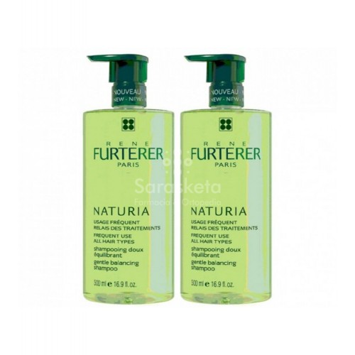 Rene Furterer - Rene Furterer DUPLO Naturia Champú 500ml+500ml - Farmacia Sarasketa