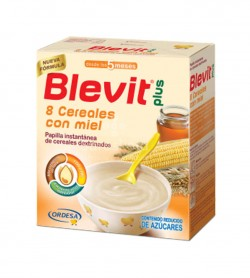 Ordesa - Blevit Plus 8 Cereales con Miel (600g) - Farmacia Sarasketa