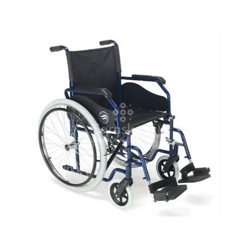 Breezy - Silla ruedas plegable Breezy 90 rueda grande - Farmacia Sarasketa