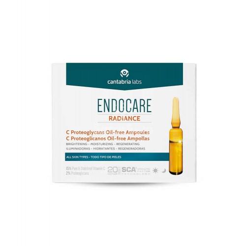 CANTABRIA LABS - Endocare Radiance C Proteglicanos Oil Free 30 ampollas 2ml - Farmacia Sarasketa