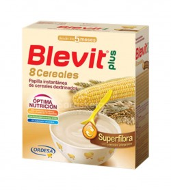 Ordesa - Blevit Plus 8 Cereales Superfibra (600g) - Farmacia Sarasketa