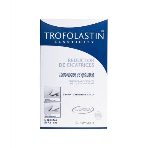 Trofolastin - Trofolastin reductor de cicatrices 5x7,5cm 5 apósitos - Farmacia Sarasketa