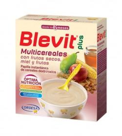 Ordesa - Blevit plus Multicereales frutos secos, miel y frutas 600g. - Farmacia Sarasketa