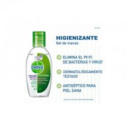 DETTOL - DETTOL gel de manos Antibacteriano 50ml - Farmacia Sarasketa
