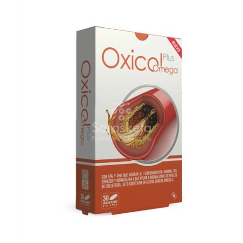 Actafarma - Oxicol Plus Omega 30 Cápsulas - Farmacia Sarasketa