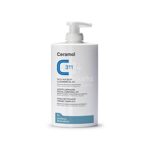 Sarasketa - SARASKETA Ceramol 311 Aceite limpiador facial-corporal 400ml - Farmacia Sarasketa