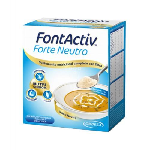 Ordesa - Fontactiv Forte Neutro 14 sobres - Farmacia Sarasketa