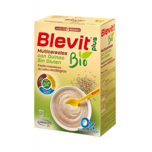 Ordesa - Blevit BIO Cereales SIN GLUTEN y Quinoa 250gr. - Farmacia Sarasketa