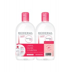 Bioderma - Bioderma Sensibio H2O Agua Micelar Duplo 500+500ml - Farmacia Sarasketa