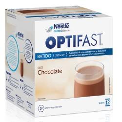 NESTLE HEALTHCARE NUTRITION, S.A. - Optifast Batido Chocolate 12sobres - Farmacia Sarasketa