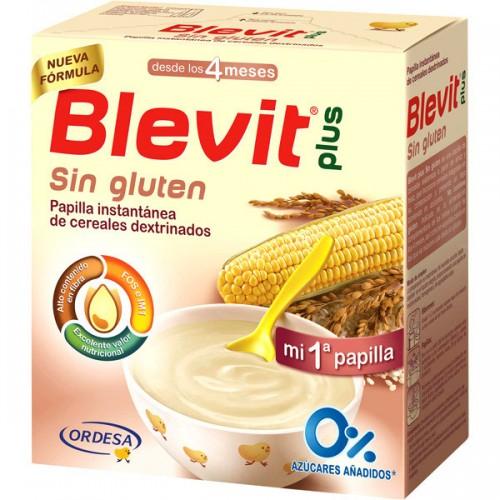 Ordesa - Blevit Plus Cereales sin Gluten 600gr. - Farmacia Sarasketa