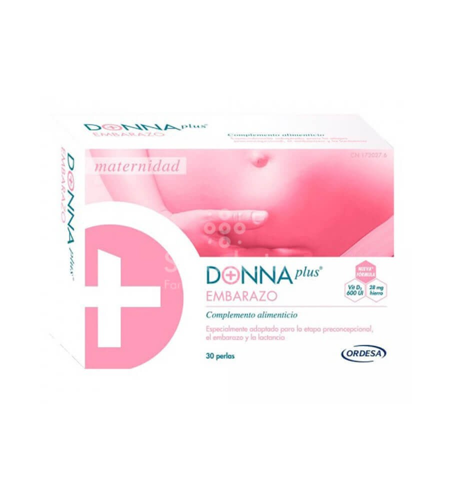 Ordesa - Donna Plus Embarazo - Farmacia Sarasketa