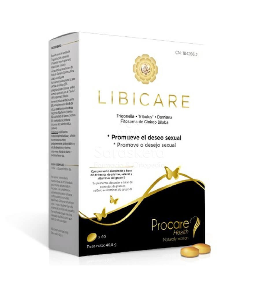 Procare Health - Libicare 60comp - Farmacia Sarasketa