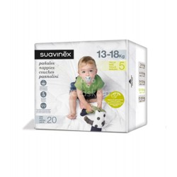 Suavinex - Suavinex Pañales talla 5 (13-18 kg) 20 uds - Farmacia Sarasketa