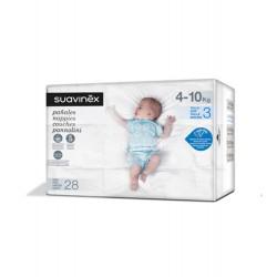 Suavinex - Suavinex Pañales talla 3 (4-10 kg) 28 uds - Farmacia Sarasketa