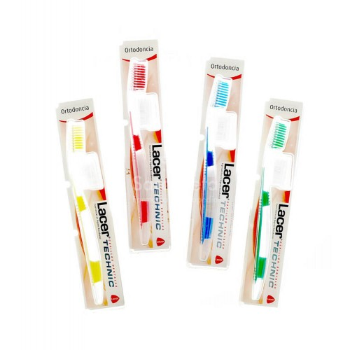 Lacer - Cepillo Lacer Technic ortodoncia - Farmacia Sarasketa