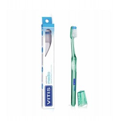 Dentaid - Cepillo Dental VITIS medio - Farmacia Sarasketa