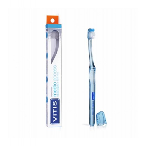 Dentaid - Cepillo dental Vitis Access medio - Farmacia Sarasketa