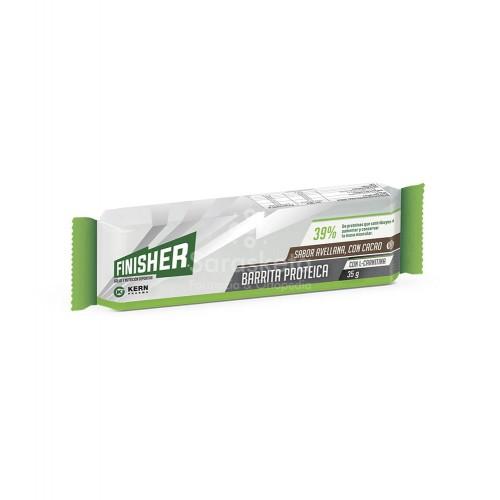 Finisher - Finisher barrita proteica sabor avellana cacao - Farmacia Sarasketa