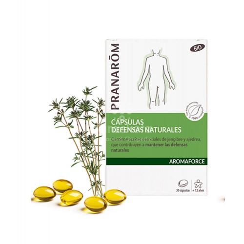 Pranarom - Pranarom Aromaforce defensas naturales BIO 30 cápsulas - Farmacia Sarasketa