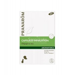 Pranarom - Pranarom Aromaforce inhalación 30 cápsulas - Farmacia Sarasketa