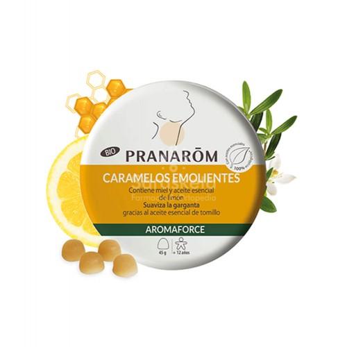 Pranarom - Pranarom Aromaforce caramelos emolientes miel-limón - Farmacia Sarasketa