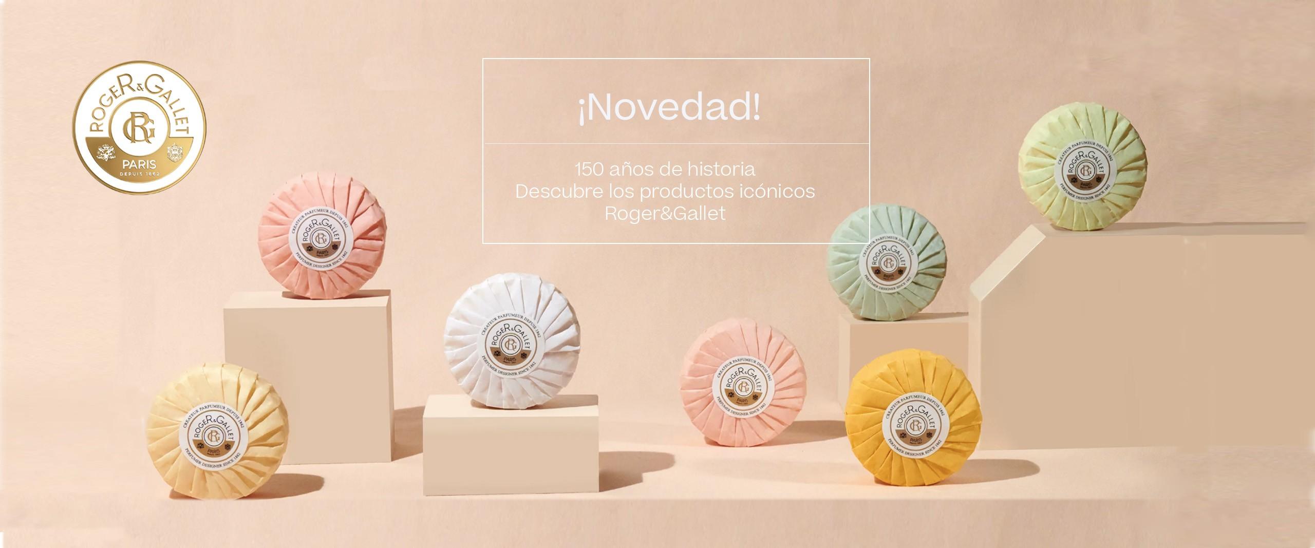 Decubre Roger & Gallet en Farmacia Sarasketa. Fragancias y jabones  creadas por maestros perfumistas franceses